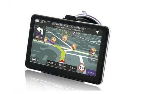 5 colos, 4 GB-os GPS teljes Európa térképpel