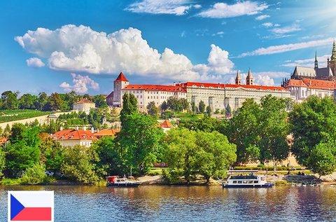 Romantikus pihenés Prágában szállodahajón