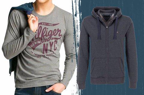 Tommy Hilfiger és Replay férfi pólók, pulcsik