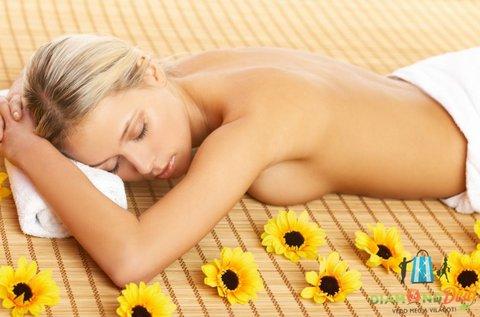 60 perces relaxációs masszázs