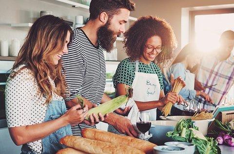 Paleo és vegán főzőklub organikus alapanyagokkal