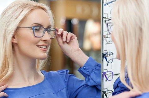 Szemüvegkészítés normál Hoya lencsével