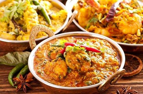 3 órás indiai főzőest komplett vacsorával