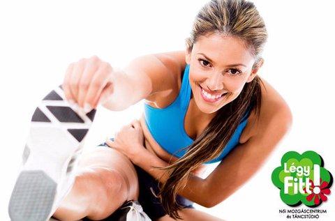1 hónapos korlátlan női fitness bérlet