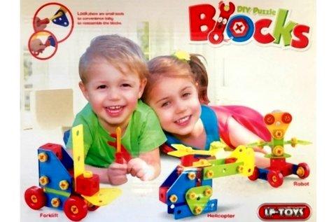 79 részes készségfejlesztő Blocks építőkocka játék