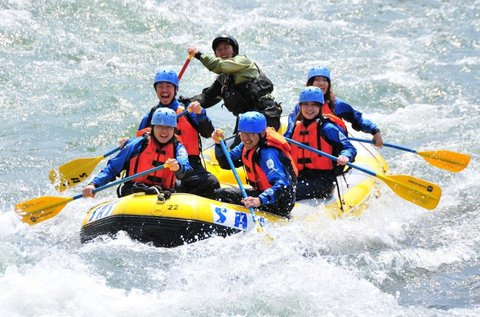 Szlovéniai kalandtúra raftinggal és canyoninggal