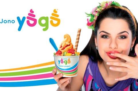 40% kedvezmény Jono Yogo frozen yogurtra