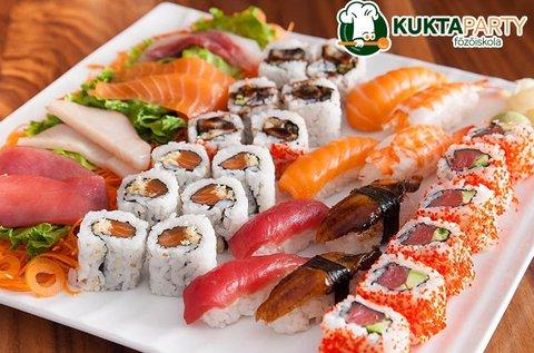 3 órás sushi készítő tanfolyam