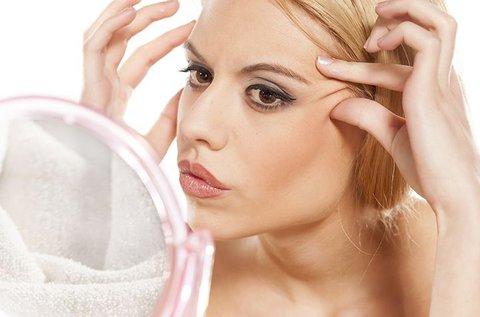 Fiatalító botox kezelés az arc különböző területeire