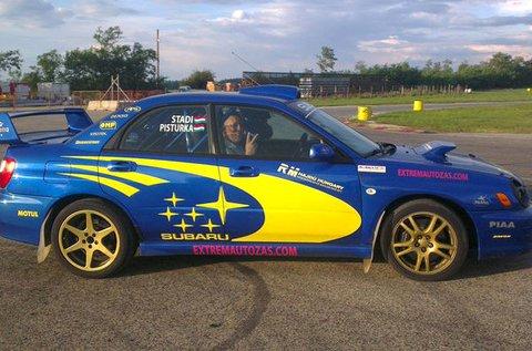 Száguldj egy Subaru Impreza WRX autóval!
