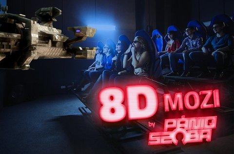 8D Cinema belépőjegy választható filmre