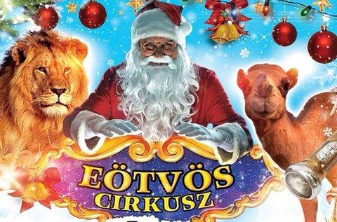 Belépő az Eötvös Cirkusz karácsonyi előadására
