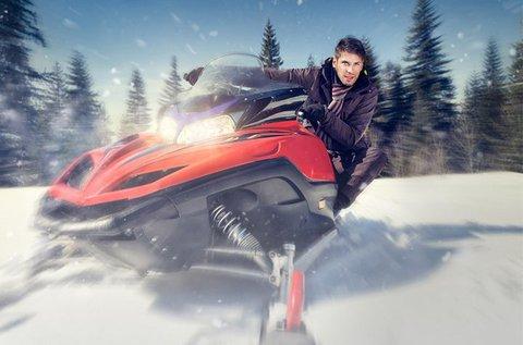 Téli hószánozás a szlovák Paradicsomban