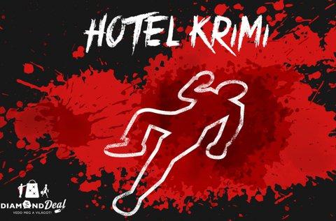 Hotel Krimi az élő társasjáték 2 vagy 6 főre