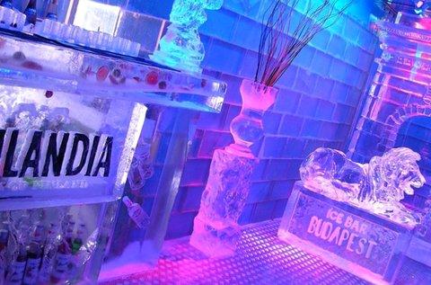 Belépőjegy 1 fő részére az Icebar Budapestbe