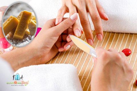 Ápoló japán manikűr hidratáló kézmasszázzsal