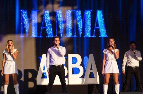 Super Troupers Abba The Show belépő