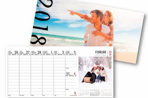 54 képes, saját fotókból készült asztali naptár