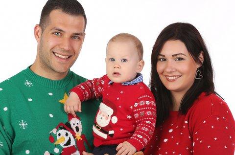 Karácsonyi családi, divat- vagy babafotózás