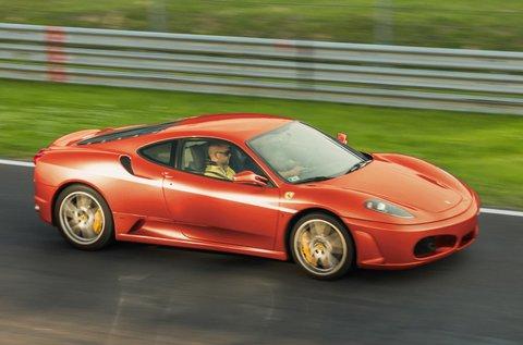 4 körös élményvezetés Ferrari F430 F1-gyel