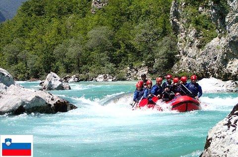 Kalandos napok vadvízi raftinggal Szlovéniában