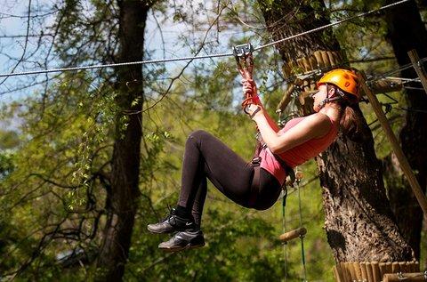 Gyermek, diák, felnőtt kalandpark belépő