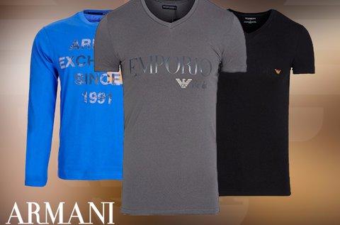 Armani férfi rövid és hosszú ujjú pólók