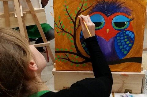 Páros élményfestészet 3 órában