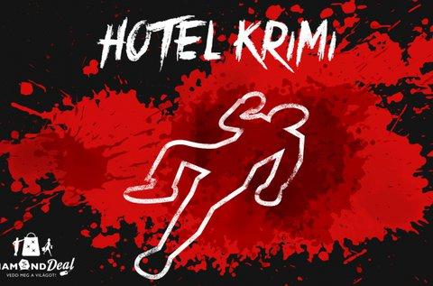 Hotel Krimi élő logikai játék 6 fő részére 69 percben