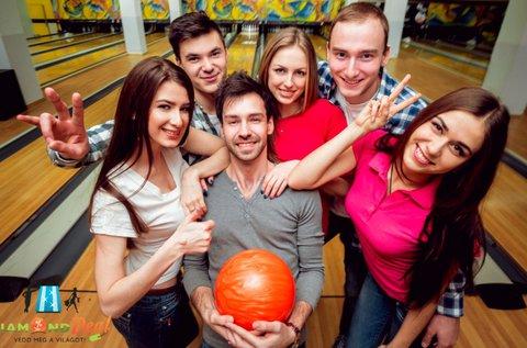 2 óra bowlingozás + 6 adag nachos maximum 6 főre