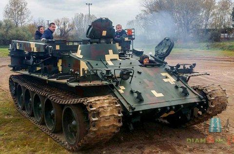 20 perces tankvezetés motocross pályán Gyálon