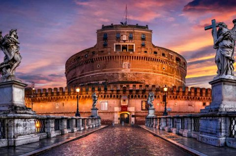 3 napos pihenés romantikus hangulatban Rómában