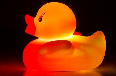 Disco Duck világító gumikacsa