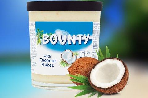 Bounty kenhető tejes krém kókuszreszelékkel