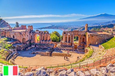 Buszos utazás Szicíliába, az álmok szigetére