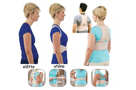 Orvosi testtartás javító segédeszköz