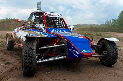 3 körös homokjáró Buggy versenyautó vezetés