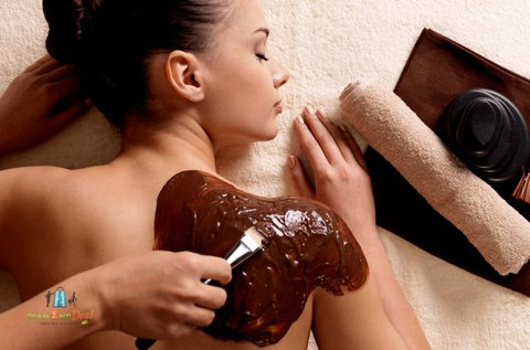 60 perces teljes testes relax csoki masszázs