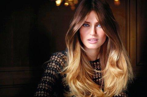 Választható típusú hajfestés keratinos ápolással