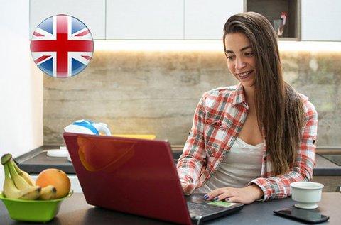 12 hónapos, 6 szintű online angol nyelvtanfolyam