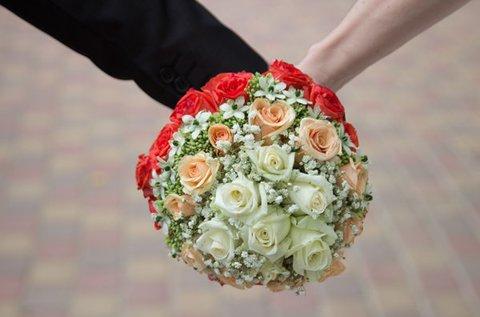 Esküvői szertartás fotózása akár kreatív fotókkal
