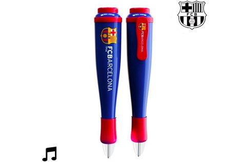 F.C. Barcelona zenélő toll