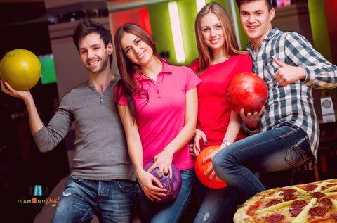 2 óra bowlingozás max. 6 főnek, választható pizzával