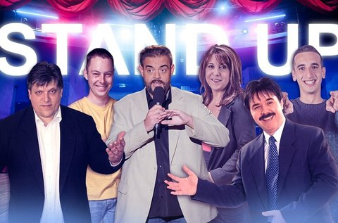 Stand up comedy est svédasztalos vacsorával