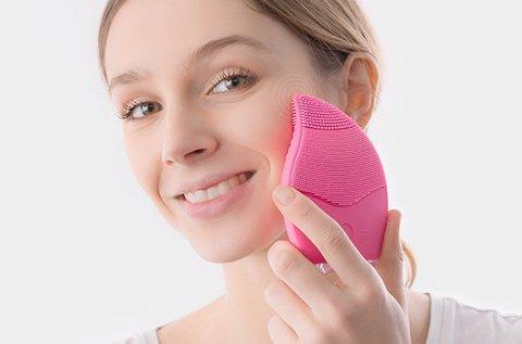 Pink Wave arcmasszírozó 5 intenzitási szinttel