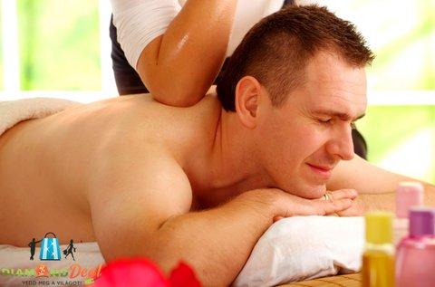 60 perces teljes testes relaxációs masszázs