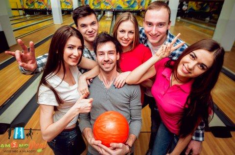 2 óra bowlingozás + 6 adag nachos
