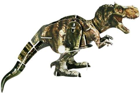 3D felhúzhatós dinoszauruszos kirakó