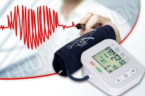 Karra helyezhető, LCD kijelzős vérnyomásmérő