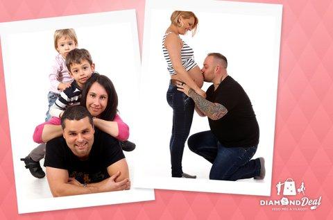 Minőségi családi fotózás maximum 6 fő részére